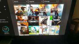 Xbox one with scuff controller + 20 +AAA games