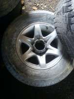 Isuzu bakkie mags with tyres two only 16 inch