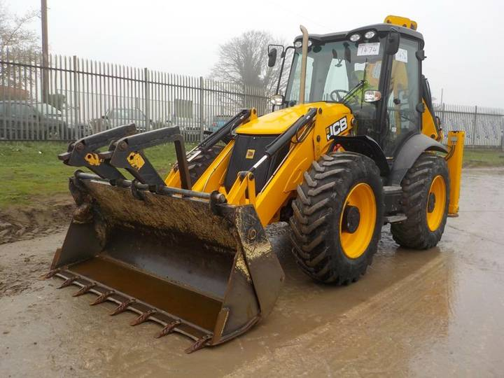 JCB 4CX P21 ECO - 2016
