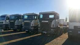Scania R500 Twinsteer Rigid Truck For Sale