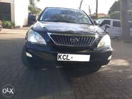 Toyota Harrier,2010,KCL,Petrol,2400cc,Alloys,Black,Auto,Leather,Camera