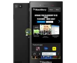 BlackBerry Z3 smartphone on sale, slightly used, very clean condition
