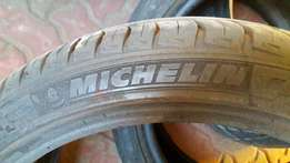 Two 205x40x17 Tyres for sale.
