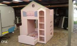 Girl's Bunk Bed