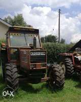 Fiat Tractor 1280. 130HP 4WD. In running condition, well maintained.