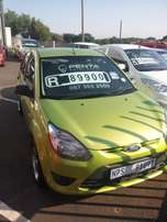 2012 Ford figo ambiente with 102000km on the clock