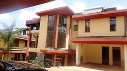 Spacious Four bedroom Maisonette for rent in Kilimani Riara Road