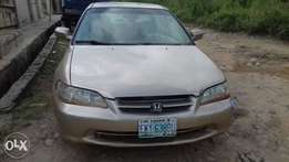 Honda Accord 1999 model is up for sale