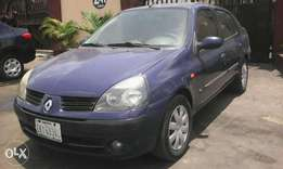 Renault clio1.4 engine 2004 first body factory a/c,lowest fuel economy