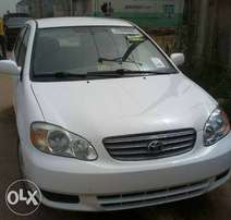 newly imported Tokunbo Toyota Corolla 2004 located in abuja