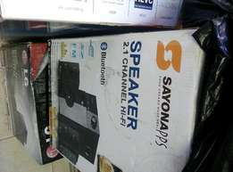 Brand new sayona 2.1 woofer with Bluetooth