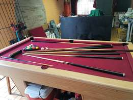 pool board table , slate heavy duty