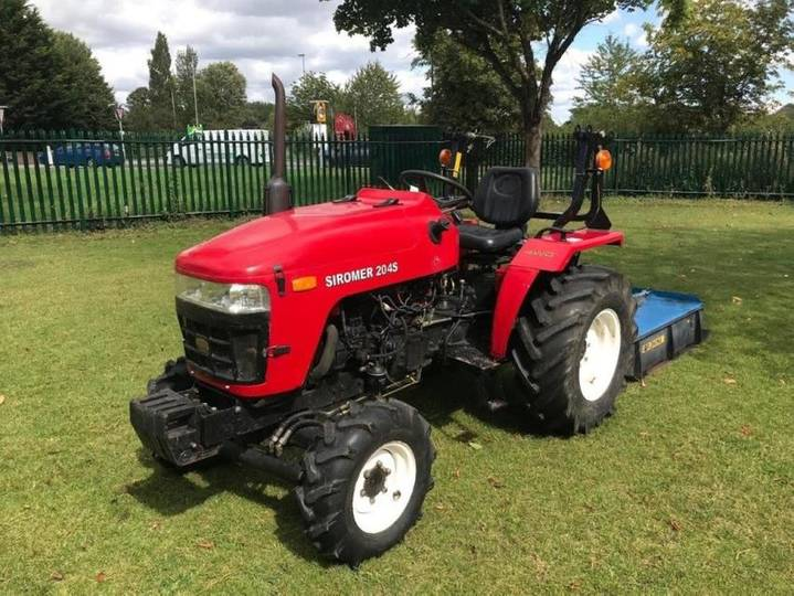 Loc siromer 204s compact tractor - 2010