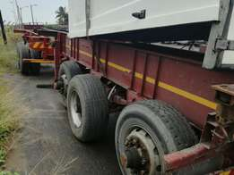 6M tri axle skeleton trailer