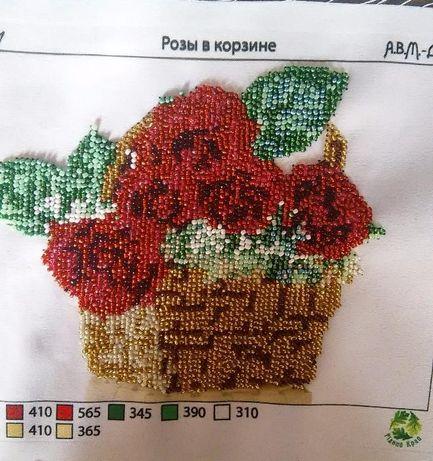 Картина вишита бісером троянди  250 грн. - Витвори майстрів ... 1df57f8ef6d1d