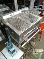 Deep fryer frier gas oparated