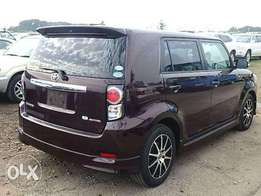 Wine Red Toyota Rumion Fully Loaded