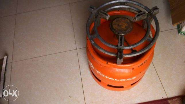 6kg Total gas cylinder with all accessories Mukono - image 1