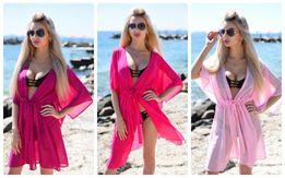2295a8425582d пляжная туника парео шифоновое тунiка накидка платье