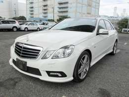 Mercedes Benz E250 Leather Sunroof 2010