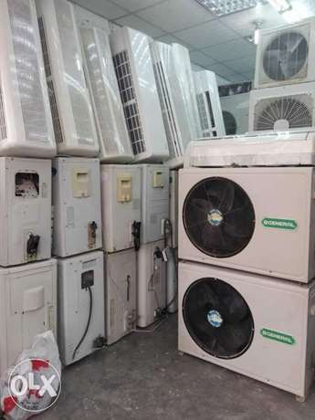 i have split & window a/c with sale and fixing نجمة -  2