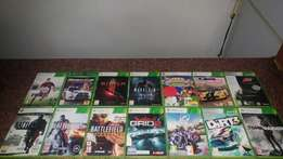 XBOX 360 Games in Boxes