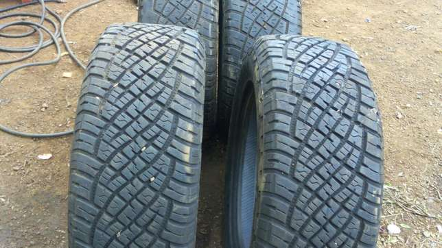 Ex-uk 255/60r18 General tyres Runda - image 1