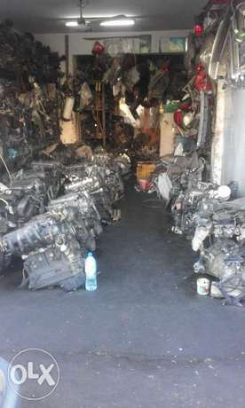 Sale of used spare parts