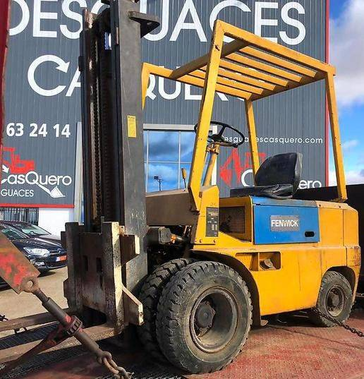 Fenwick DAPJ 255 TT 85 SD