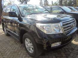 Toyota ZX, 4600cc petrol, year 2010, black colour, leather interior