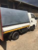 Canopy for Kia bakkie R4500 with load control and ramp