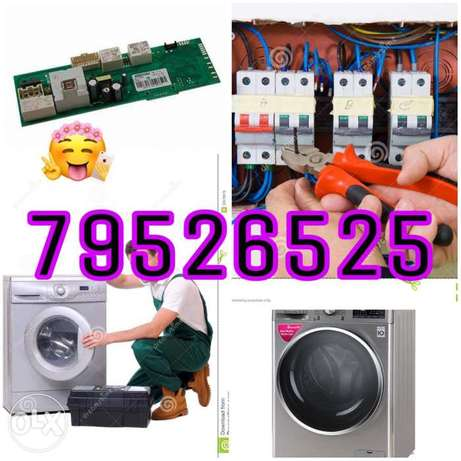 Electric washing machine repair and service