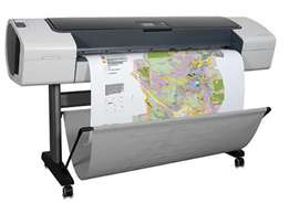 Plotter printers available.