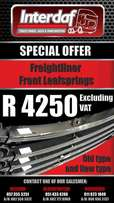 Freightliner Front Leaf Springs - New & Old Type