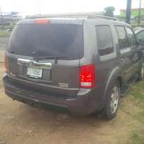 Locally Used (few month) Honda Pilot, 2009.3-Row Leather Seat, Very OK