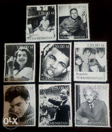 Icons of the 20th Century Stamps