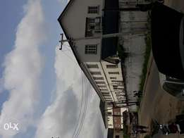 4 bedroom terrace house inside an estate in yaba for rent