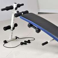Sit-up Bench With Exercise Rope Dumbbell Push Up Bar