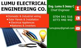 Electrical company with certified technicians and electrical engineers