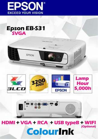 Easter Holyday Offers! Epson EB-S31 Projector.Was 45,000,Now 40,000 Nairobi CBD - image 2