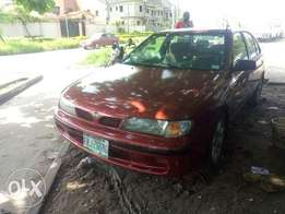 Neatly used Almera 1998 model (automatic)
