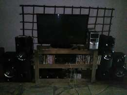 LG TV and Home Theatre system