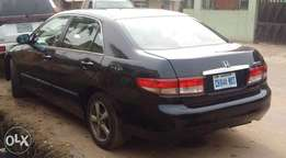 Very clean,v4,sound and super sharp Reg HONDA ACCORD EOD 05model