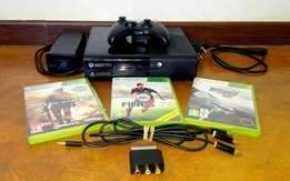 Xbox 360 + 1 month Xbox live gold membership and 3 games