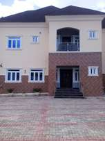 Brown new five bed room duplex for sale