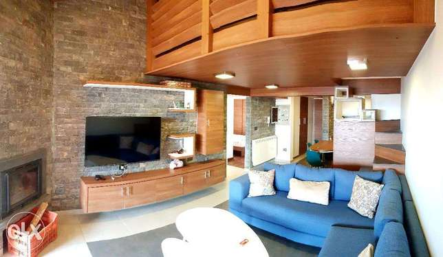 L04325-High-End Decorated & Fully Furnished Chalet For Sale at Faraya