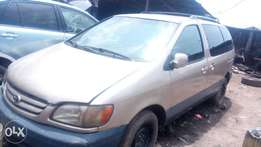 2002 toyota sienna space bus for sale