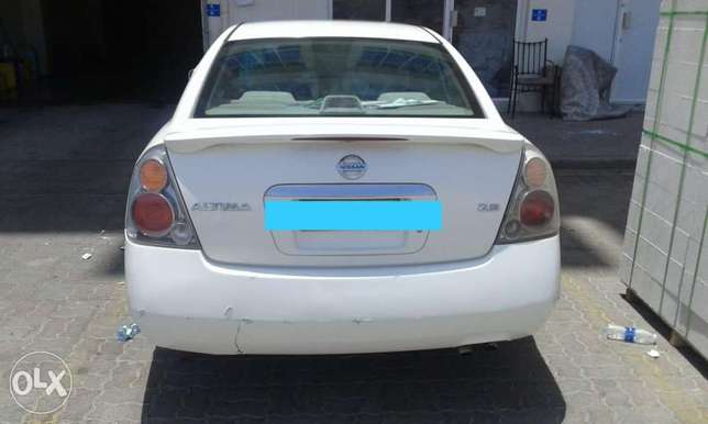 Nissan Altima 2005 only spare parts