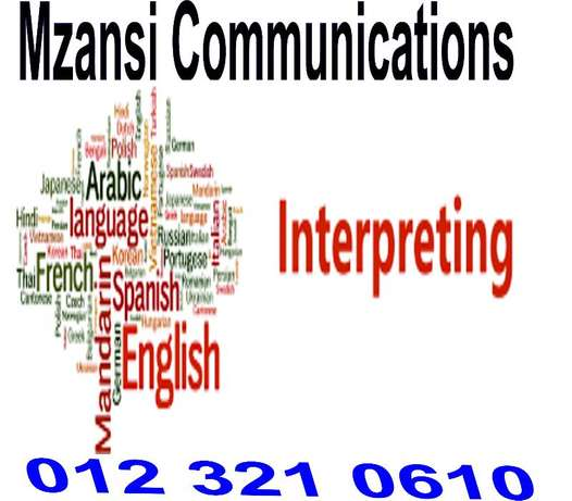 Professional Interpreting services in Eastern Cape Wesbank - image 1