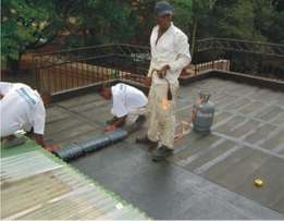 Roof-leak waterproof and building repairs in Nair